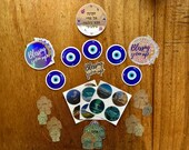 Mega Blessings and Magick Sticker Set - Vinyl Glitter, Holographic,  Mirror Stickers - Waterproof