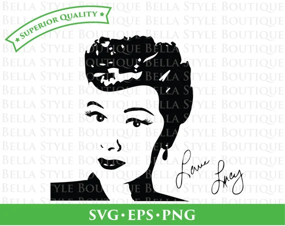 Download Lucy Lucille Ball I Love Lucy Desi Arnaz Ricky Ricardo svg ...