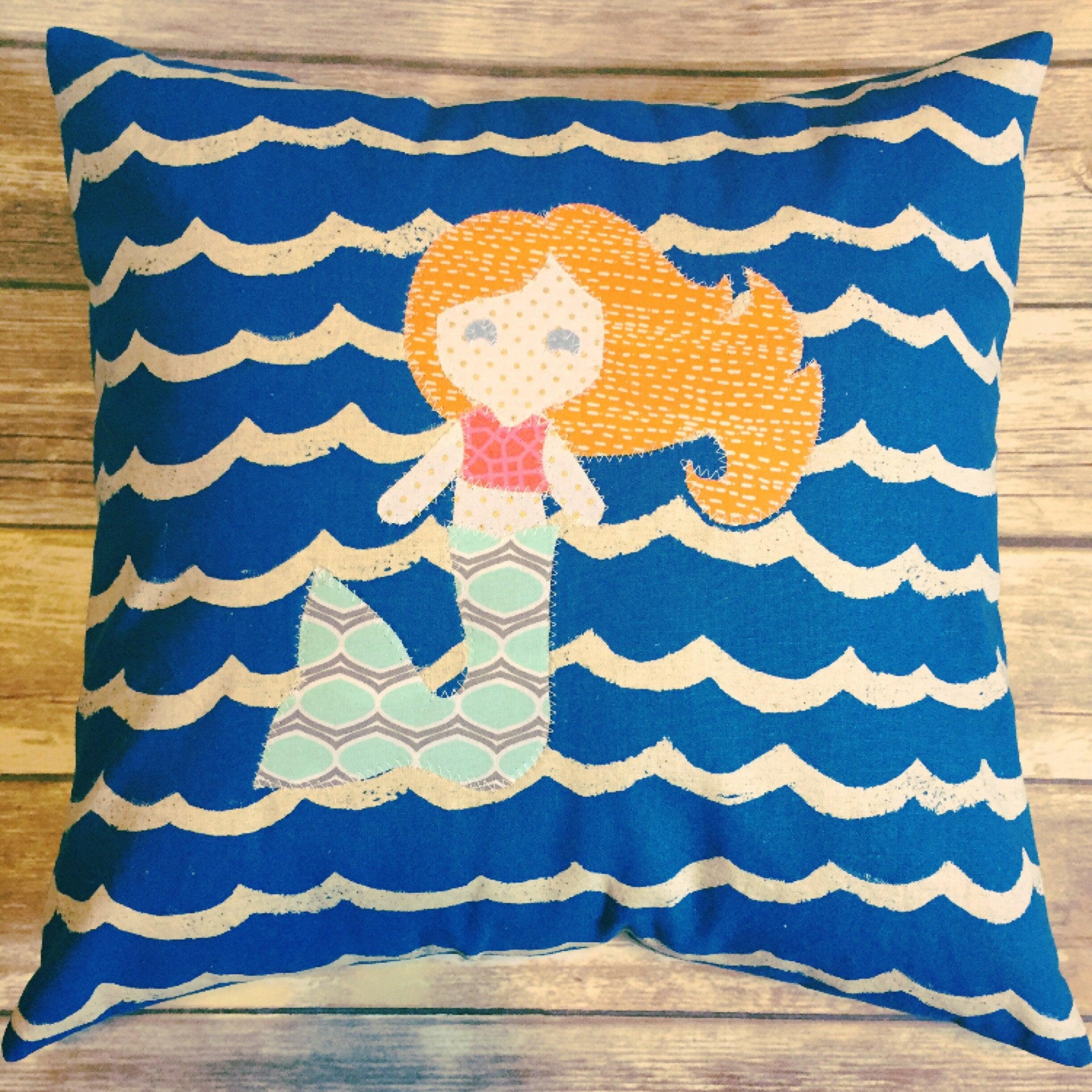 custom mermaid pillow mermaid pillow