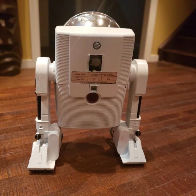 Vintage Kodak Brownie Starflash Camera robot Cambot kitbash Droid R2D2