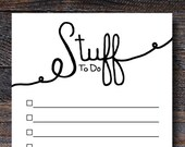 Stuff to Do Notepad - To ...