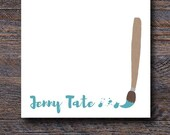 Paintbrush Notepad - Cust...