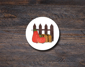 Pumpkin Patch Stickers, F...