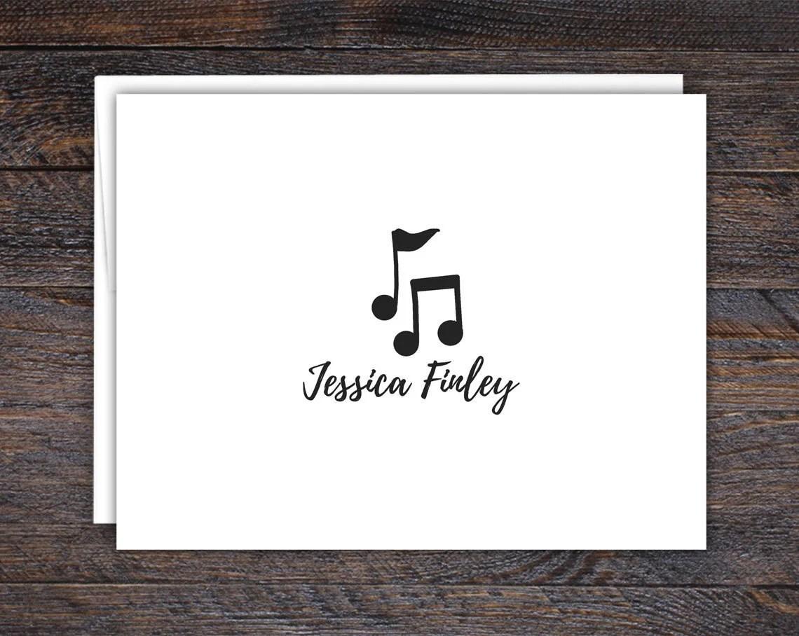 Music Note Card Set  | Gi...