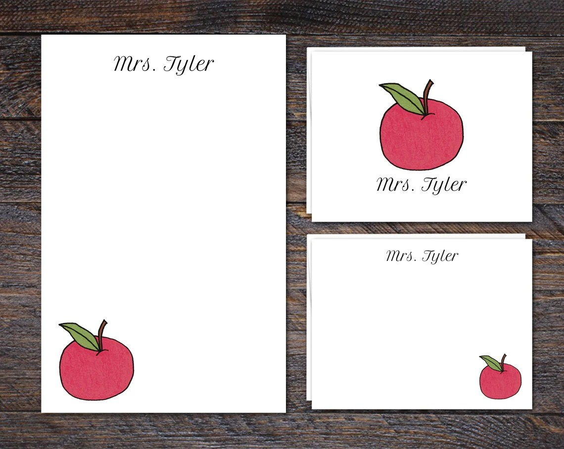 Personalized Stationery f...