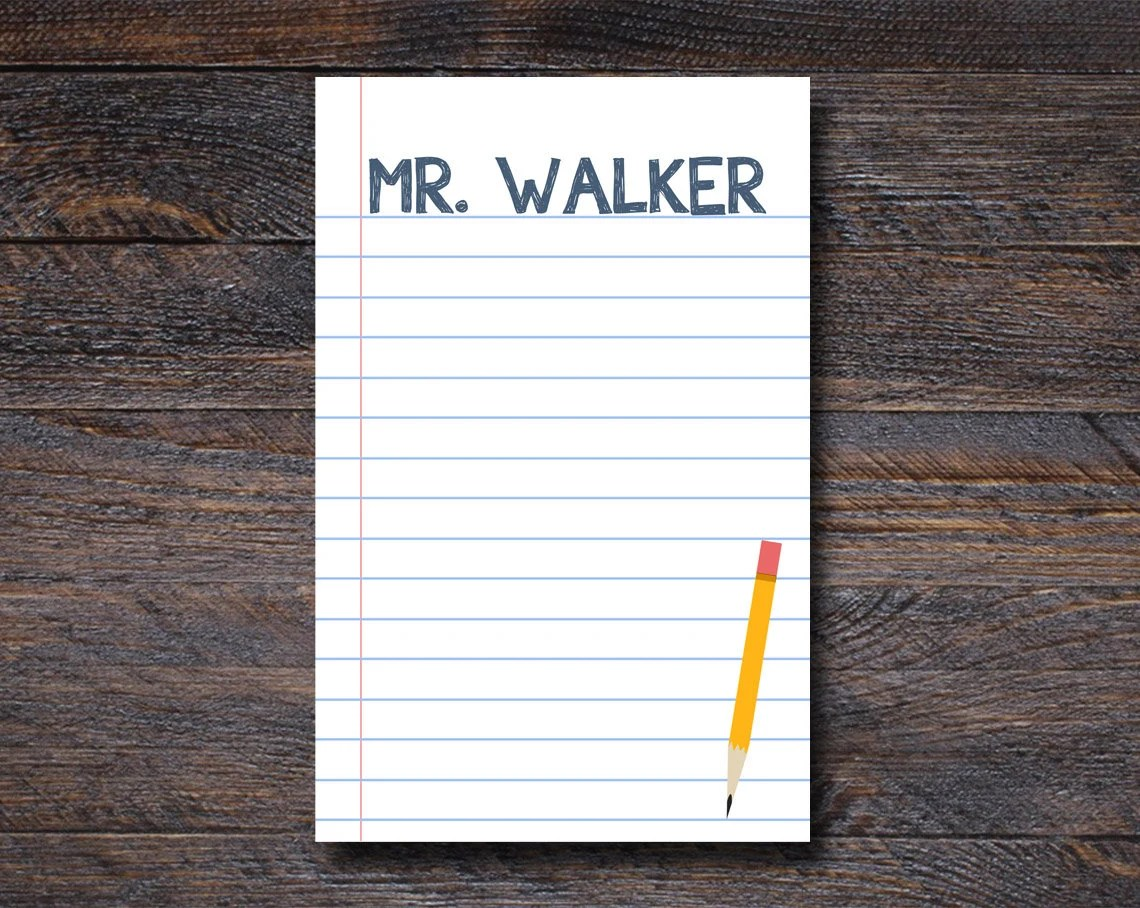 Notebook Paper Notepad - ...