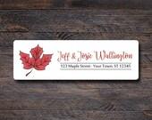 Maple Leaf Return Address...