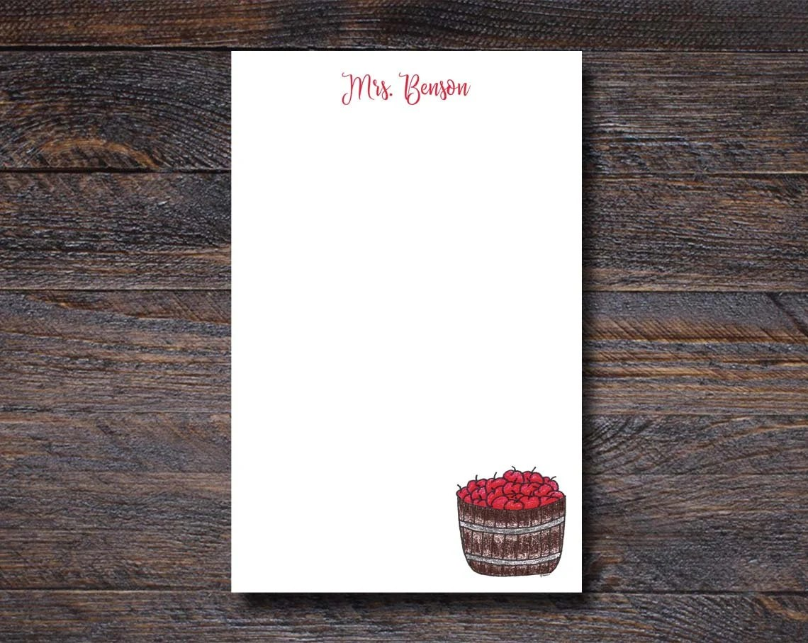 Personalized Notepad   Ap...
