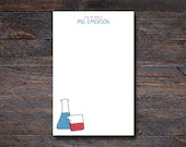 Science Beakers Notepad -...