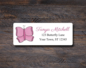 Butterfly Address Labels ...