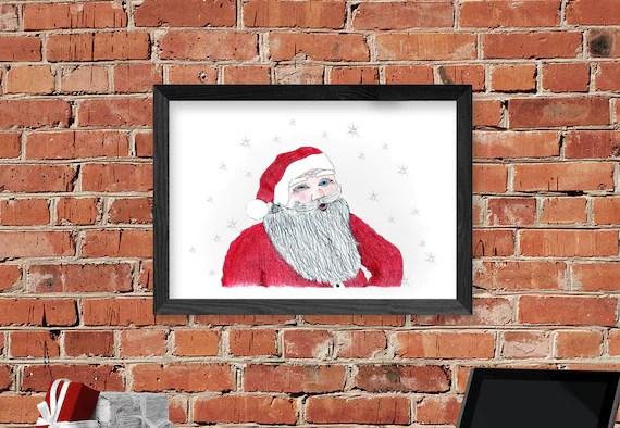 Santa Claus Wall Decorations