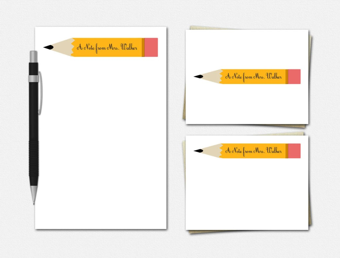 Pencil Stationery - Perso...