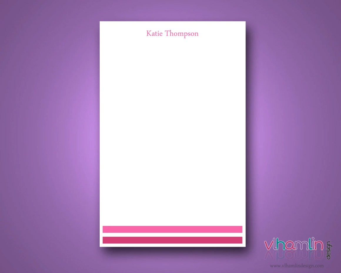 Personalized Notepad - 50...