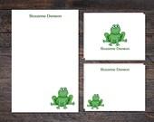 Frog Stationery Set - Not...