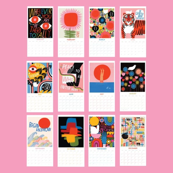 2020 Wall Calendar by Lisa Congdon