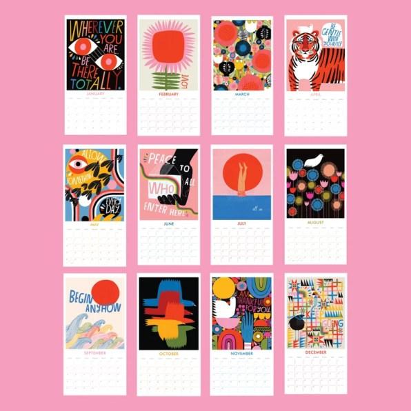 2020 Wall Calendar by Lisa Congdon