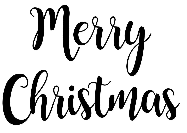 Merry Christmas Svg File Custom Designs Amp