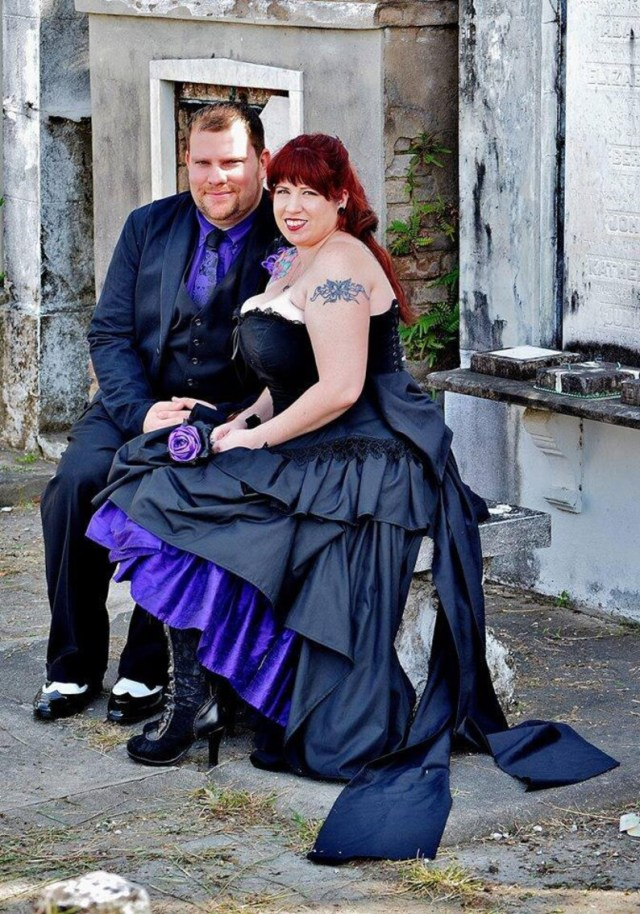 High Low Gothic Black Wedding Dress Unique Alternative Steampunk Gown Goth Corset Dress Custom to Order  3