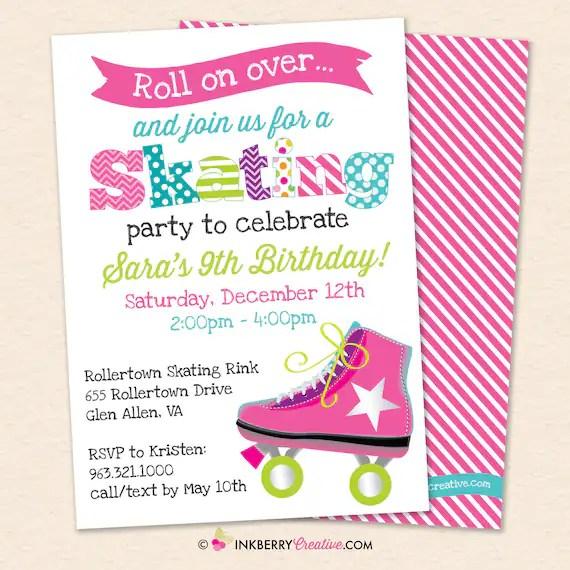 roller skating birthday party