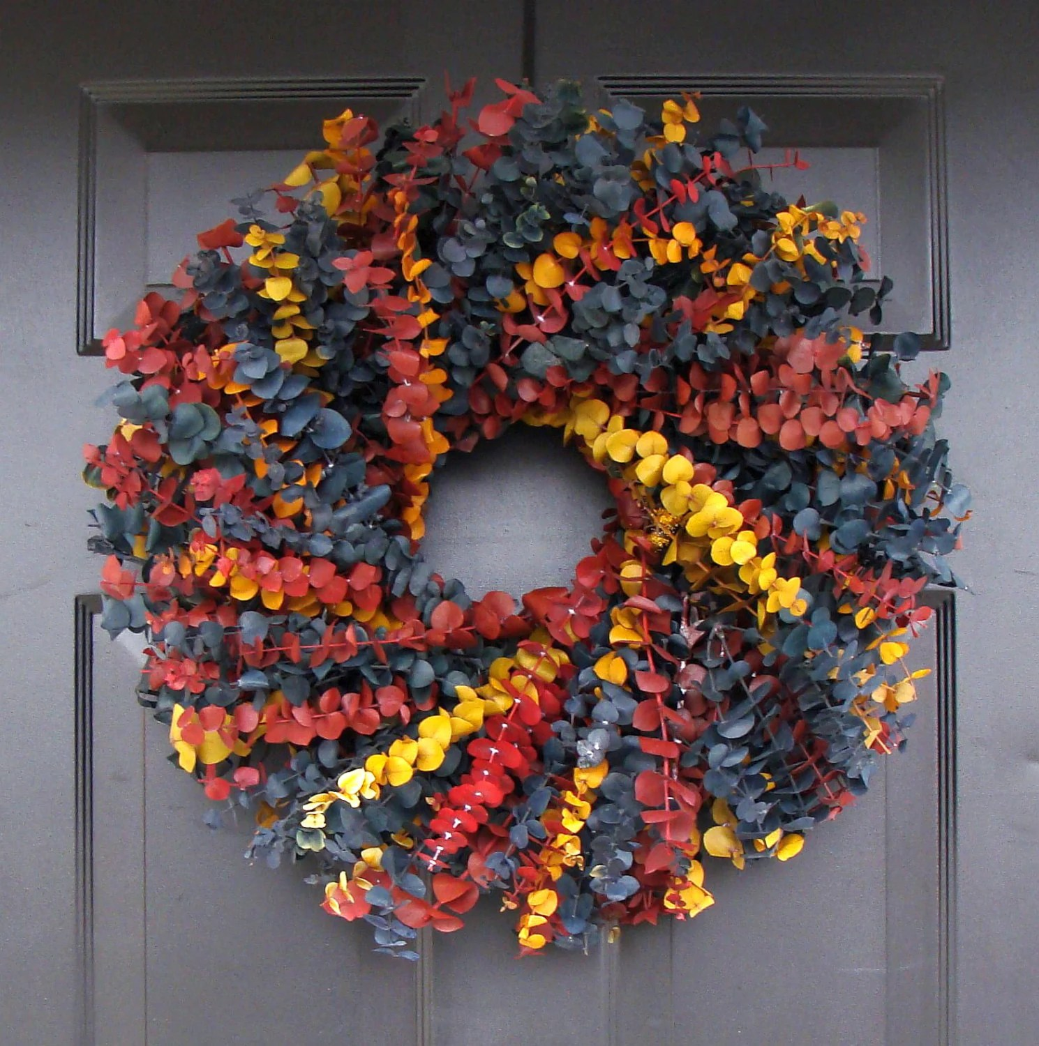 Year Round Wreath- Dried Floral Wreath- Floral Arrangement ... on Decorative Wall Sconces For Flowers Arrangements id=89813