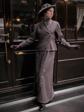 Edwardian Walking Suit, 1910s ladies suit, Titanic Costume, Suffragette Outfit