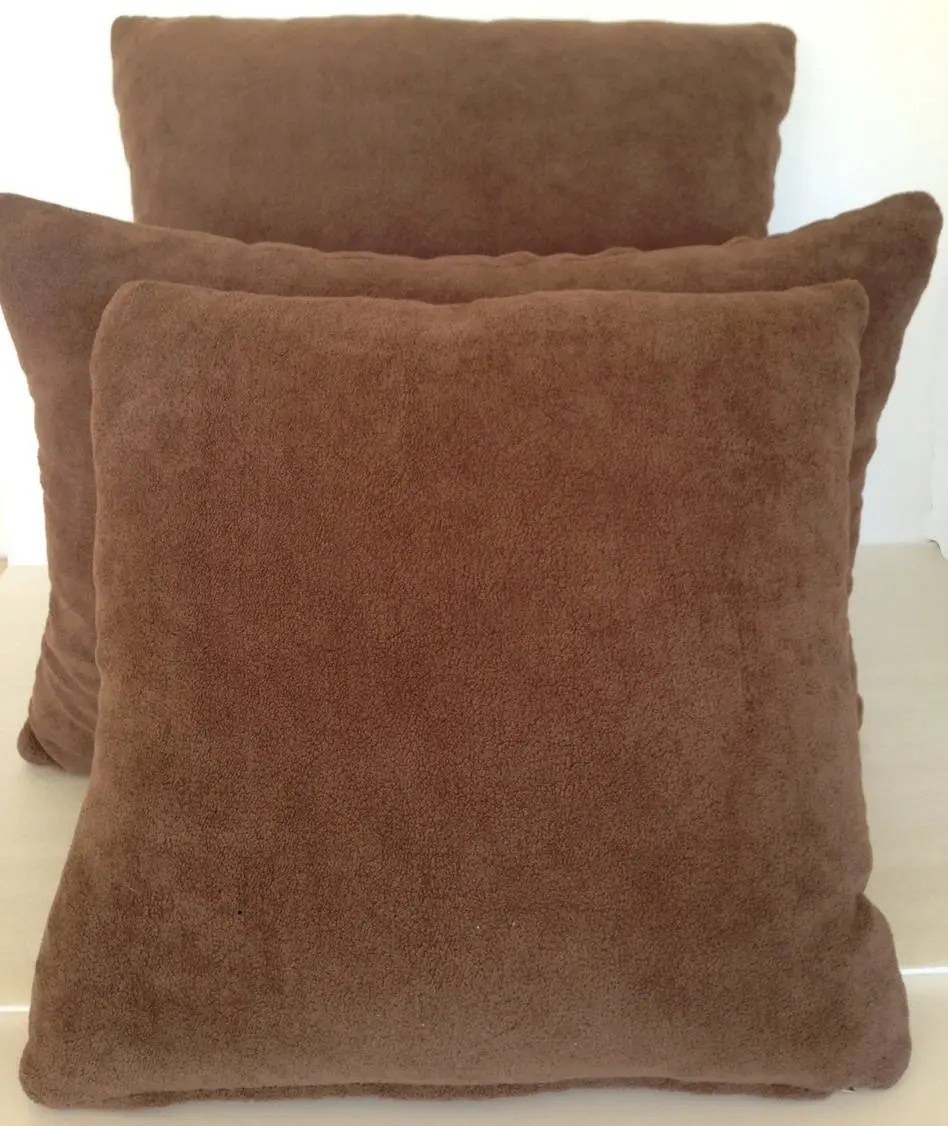 terry cloth pillow etsy