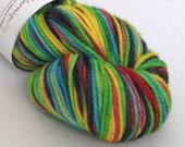 Hand dyed yarn. 100g of h...
