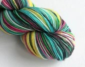 Hand dyed wool yarn, supe...