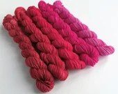 Gradient yarn mini skeins...