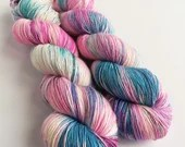 Hand dyed variegated yarn...