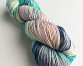 Hand dyed blue and pink w...