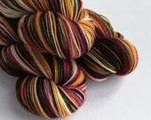 Hand dyed Christmas yarn ...