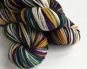 Hand dyed Yule yarn pre-o...