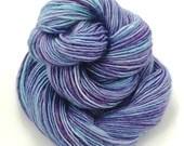 Hand dyed semi-solid yarn...