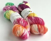Hand dyed wool yarn, 80/2...