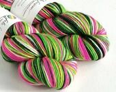 Hand dyed yarn, single pl...