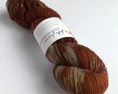 Hand dyed wool yarn, 70/2...