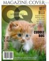 Photoshop Template Pet Design 8x10 Cat Magazine Cover Etsy