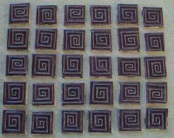 greek key tiles etsy