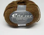 deSTASH yarn, ella rae classic sport, sport weight knitting yarn, crochet yarn, green orange yarn, brown yarn, wool knitting yarn