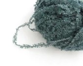 deSTASH Teal Lulu Chenille knitting yarn