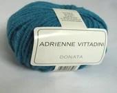 deSTASH, destash yarn,  Adreinne Vittadini Donata, Turquoise Alpaca knitting yarn, alpaca blend yarn, acrylic blend yarn, crochet yarn