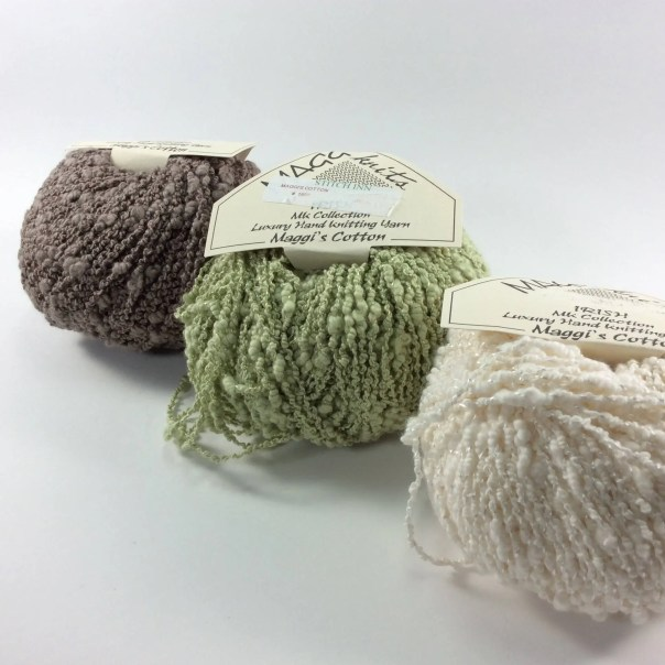 deSTASH: Maggi Knits Irish Cotton knitting yarn