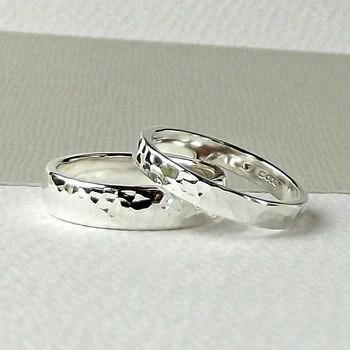 sterling silver wedding ring silver wedding band wedding ring set simple wedding band handcrafted wedding ring silversynergy uk