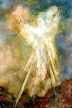 Angel Art Print Poster Wall Art Wall Decor Guardian | Etsy