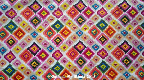 Bohemian Print Fabric By The Yard Hippie Fabric Indian ...