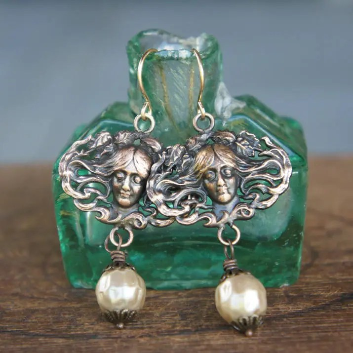 Vintage French Brass and ...