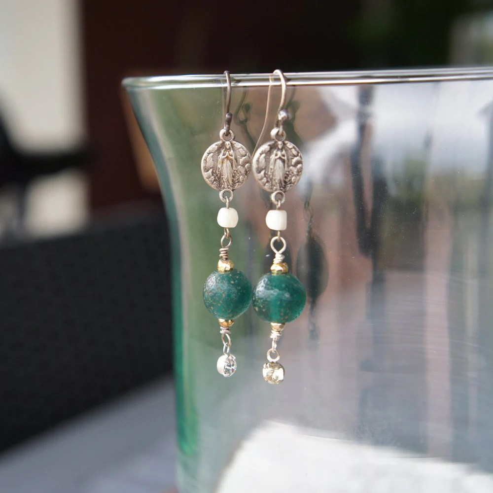 Antique Assemblage Earrin...