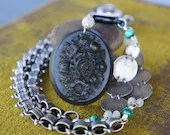 Antique Assemblage Neckla...