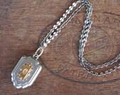 Antique Fob Medallion Nec...